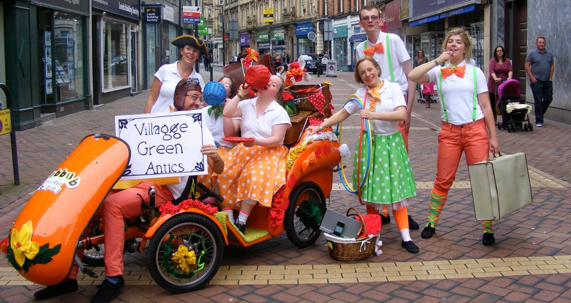 Join us for Hubbub Street Theatre and Beach Party