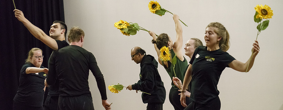 We Want YOU to join our revolution! Hubbub looks for people to make sunflowers for The (not so) Quiet revolution of Kindness show at Derby Festé 2018