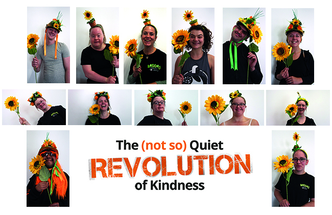 final blog whole team - Ssshhh The (not so) Quiet Revolution of Kindness is HERE!