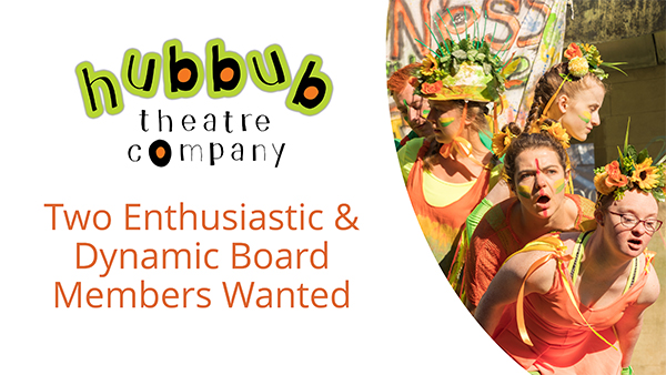Hubbub seek 2 new Board Members